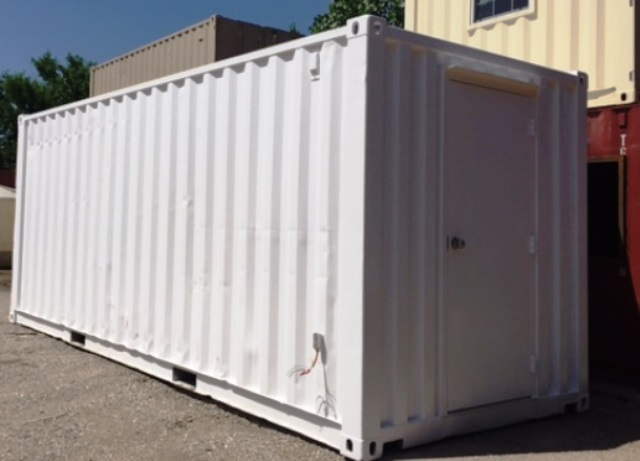 A Shipping Container Workshop Gives You the Elbow Room to Create!