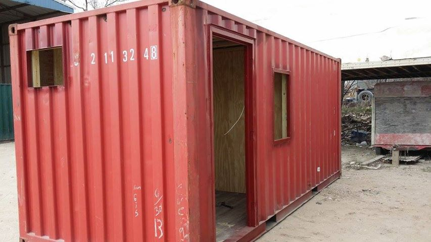 A Customized Shipping Container